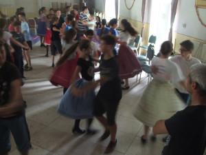 tánctanulás Kalotaszegen